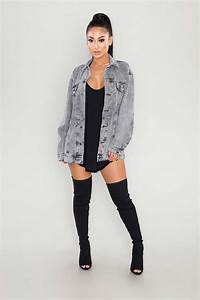 The 25+ best Oversized denim jacket ideas on Pinterest | Jean jacket oversized Denim jacket ...