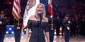 Fergie reworked the US National Anthem at the NBA All-Star ...