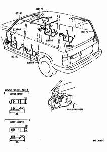 Wiring  U0026 Clamp For 1990