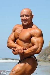 Muscle Lover: Vladimir Sizov from Russia - Beach photoshoot