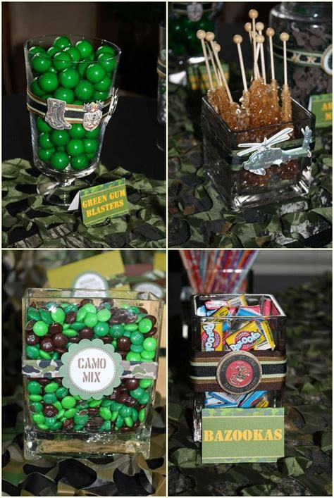 camouflage party food ideas camo party city camo sweet