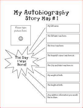 autobiography unit keepsakes parents and activities