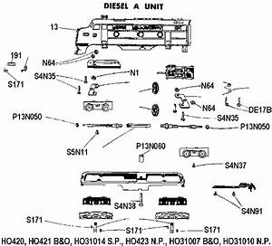 American Flyer Trains Parts Diagrams