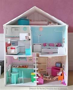 5 maisons de poupées à faire soi même