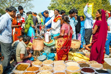 cuisine outdoor busy indian market stock photos freeimages com