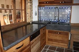 Plan Travail Pierre : cuisine et salle de bain taille de pierre 62 ~ Nature-et-papiers.com Idées de Décoration