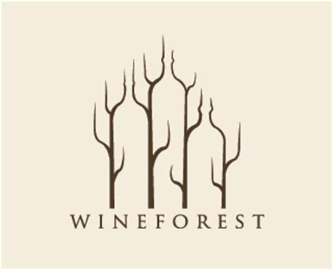 wine and design forest 30 amazing wine based logo designs inspirationfeed