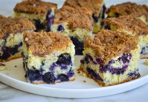 blueberry coffee cake aka boy bait    chef