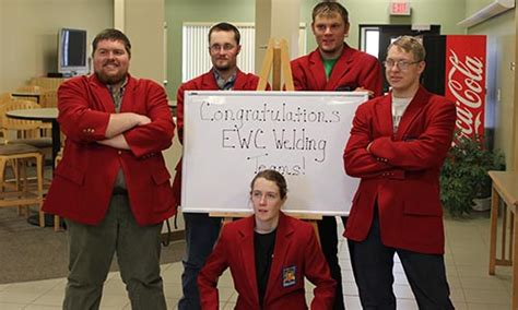 ewc students compete skillsusa welding fabrication competition