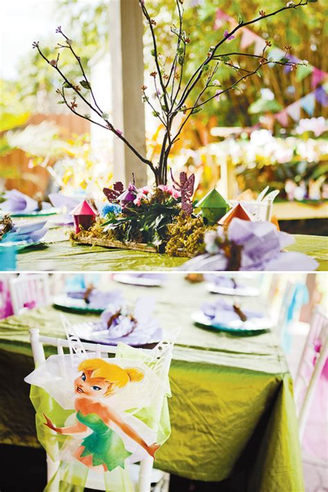 Magical Tinkerbell Party Backyard Pixie Hollow  Hostess With The Mostess®