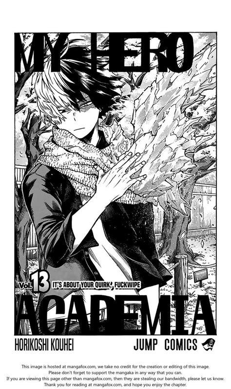boku  hero academia  volume  omake  mangafox