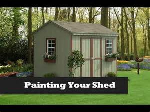 paint your shed project painting a storage shed nfl