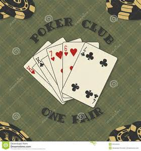 Poker Card Vector