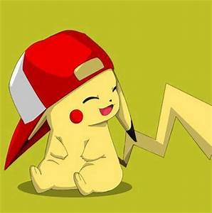 pikachu wearing a cap - image #1172144 by korshun on Favim.com