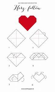 Herz Falten Origami : origami herz falten als lesezeichen oder serviette ~ Eleganceandgraceweddings.com Haus und Dekorationen