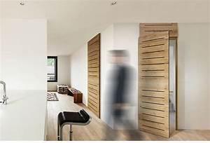 porte interieur design urbantrottcom With porte de garage et porte intérieure moderne design