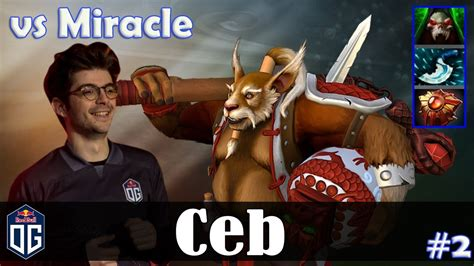 ceb brewmaster offlane miracle medusa dota 2 pro mmr gameplay 2 youtube