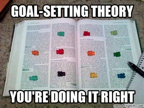 Goals Meme - goal setting theory