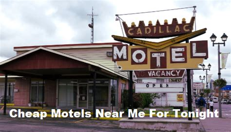 cheap motels    tonight  budget friendly travel