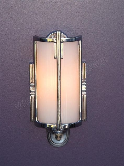 vintage bathroom lighting antique mid  chrome vintage