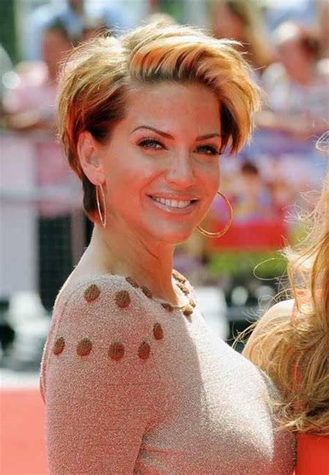 pictures  celebrity short hairstyles