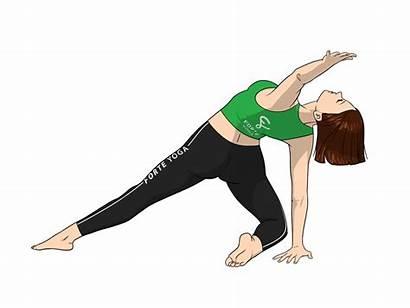 Yoga Pose Beam Revolving Camel Revolved Poses