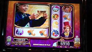 Willy Wonka Slot Machine Bonus - Charlie Free Spins - YouTube