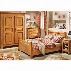 chambre a coucher en bois rouge mzaolcom With chambre a coucher en bois massif