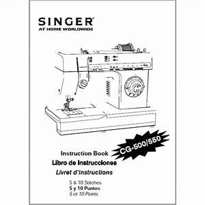 Instruction Manual  Singer Cg