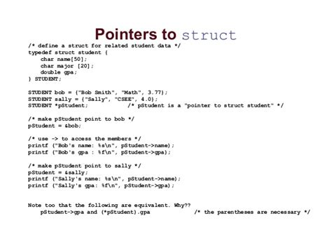 pointer structure union  intro  file handling