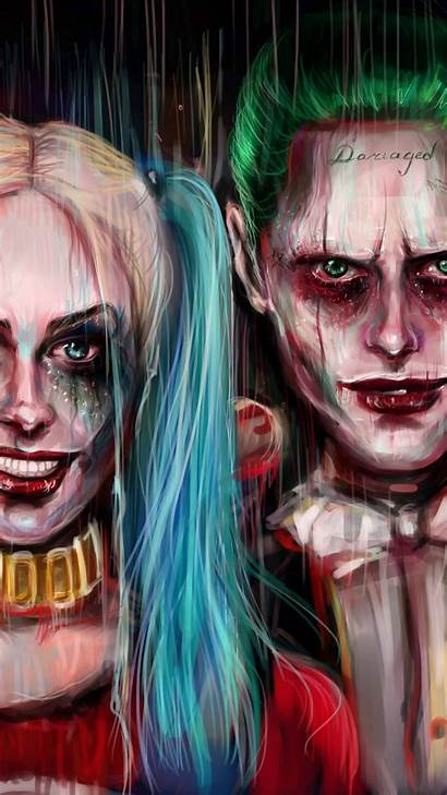 Joker Quinn Harley Wallpapers Phone Iphone 3d