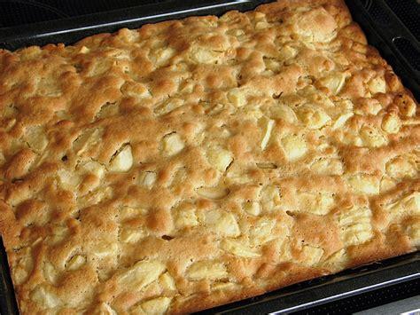 Schneller Apfelkuchen Vom Blech Von Sabbel007