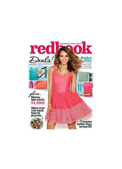 Redbook Magazine Alba Jessica April Issue Covers