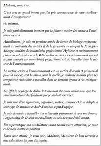 Exemple Lettre De Motivation Bts : lettre motivation bts demande de motivation jaoloron ~ Medecine-chirurgie-esthetiques.com Avis de Voitures