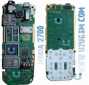 Nokia 2700 Full Pcb Diagram Mother Board Layout