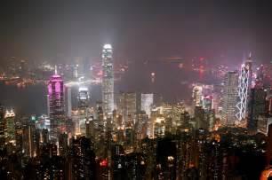 香港:香港夜景