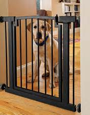 indoor dog gates metal wooden dog gates orvis With chew proof dog gate