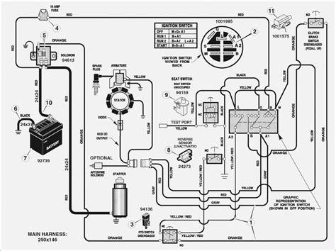 troy bilt bronco solenoid wiring diagram