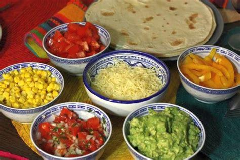 cuisine mexicaine tortillas taquiza buffet mexicain ma cuisine mexicaine