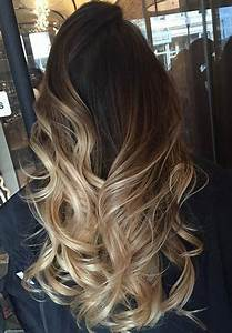 Balayage Ombré Blond : blonde balayage ombre for dark brown hair hair hair ~ Carolinahurricanesstore.com Idées de Décoration