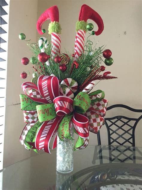 elf legs christmas tree topper elf themed christmas