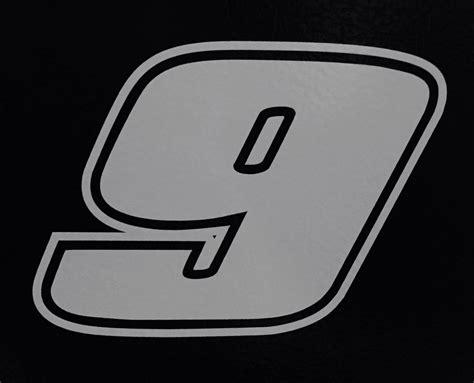 Chaise Number by 2 9 Elliott Racing Vinyl Die Cut Decal Nascar