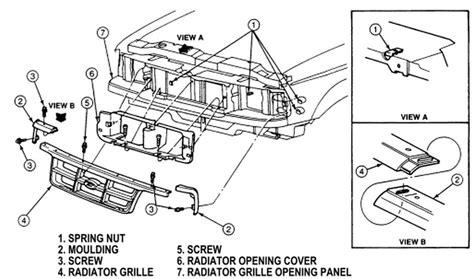 motor repair manual 1999 infiniti qx parental controls diagram of removing a grill from a 2006 infiniti qx need diagram for honda headlight