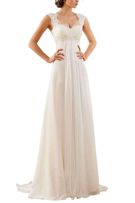 erosebridal 2016 new sleeveless lace chiffon wedding dress