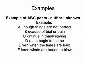 Ode Poem Examples For Middle School | www.pixshark.com ...