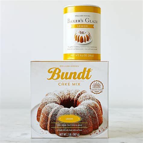 williams sonoma lemon bundt cake mix williams sonoma au
