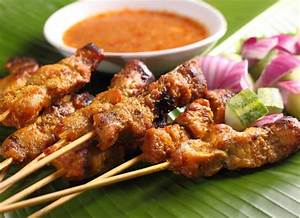 Chicken Satay Sate Ajam - Rooftop Table | food inspiration ...