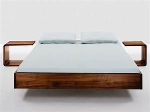 Bett Skandinavisches Design : bett simple das puristische massivholzbett das das material betont schlafzimmer pinterest ~ Markanthonyermac.com Haus und Dekorationen