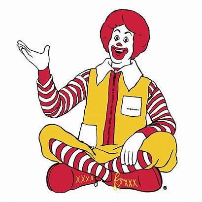Mcdonald Ronald Mcdonalds Clipart Vector Transparent Logos