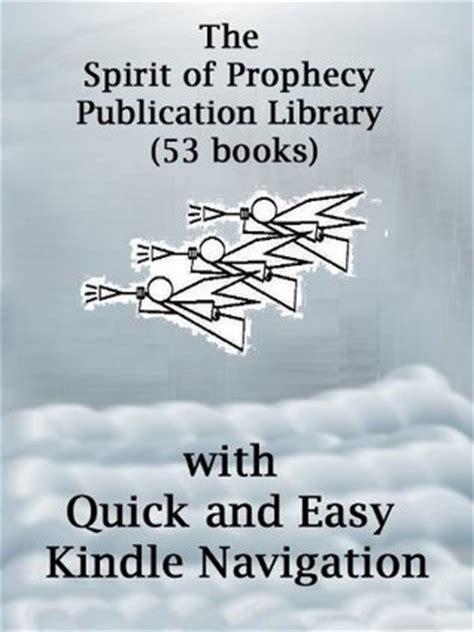 spirit  prophecy publication library  books